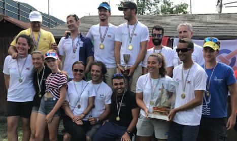 Bertola-Saggio Campioni Italiani Vaurien 2019