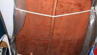 Vendesi Vaurien in legno da ultimare